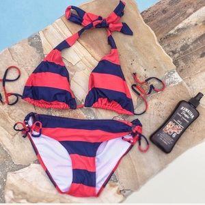Super Cute Striped Bikini